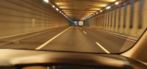 高速道路での走行