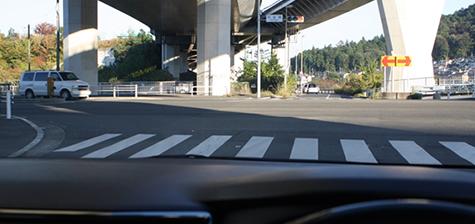 日常の一般車道走行